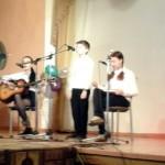 состоялся финал Городского детско-юношеского конкурса-фестиваля авторской песни
