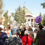 Участие в Праздновании 60-летия со дня запуска первого искусственного  спутника Земли в Волгоградском планетарии