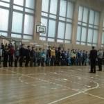 Соревнования Краснооктябрьского района по комнатным авиамоделям
